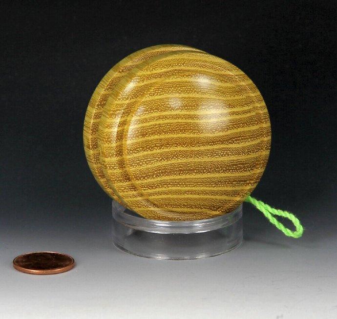 Handmade Toy YoYo, Fixed Axle Imperial Shape, Osage Orange Wood