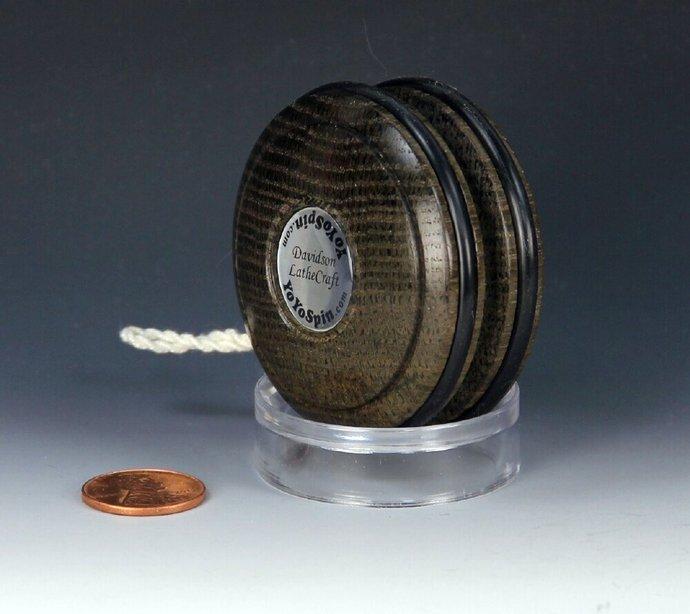 3,720 year old Russian Bog Oak Imperial Yo-Yo, Lathe turned in the USA - Rare