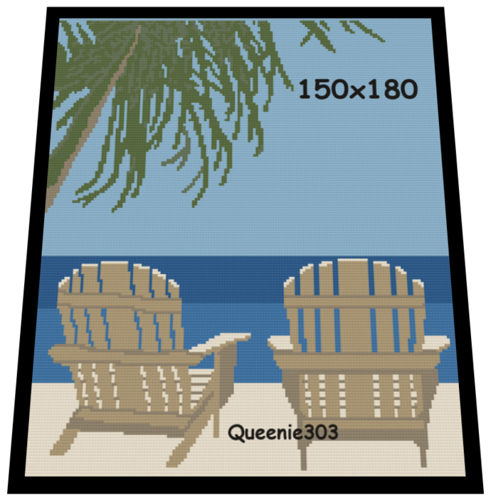 Beach Chairs 150x180