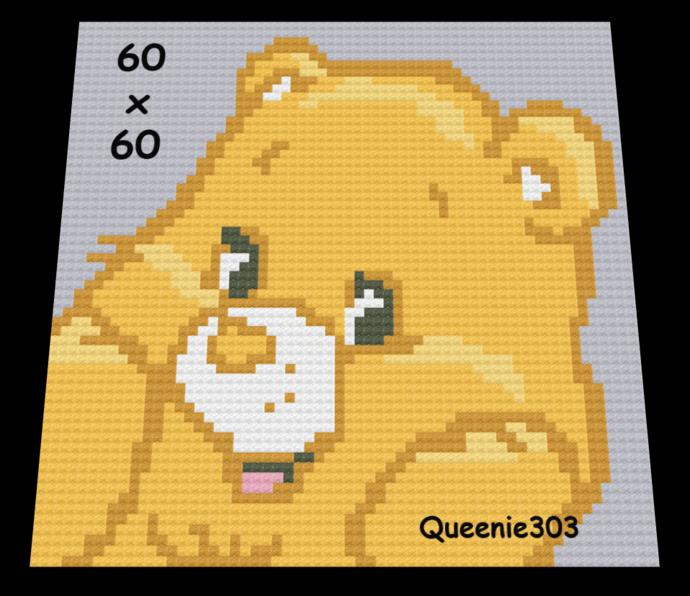 Birthday Bear 60x60