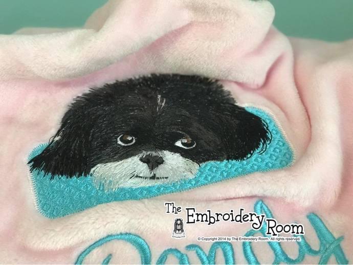 Shih Tzu Dog Blanket