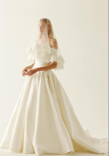 Boho Wedding Dresses With Lace Wraps Strapless A Line Satin Sweep Train  Bridal Gowns Plus Size Beach robe de mariée