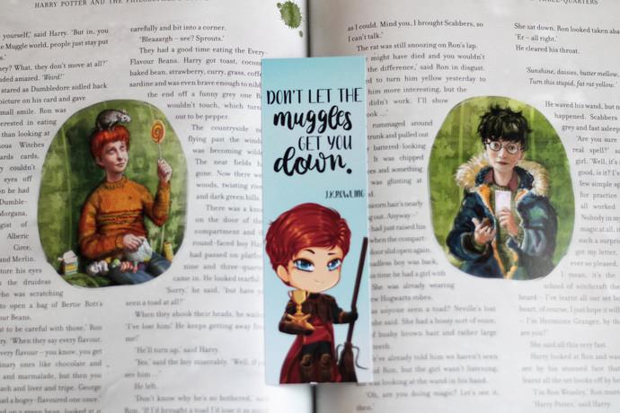 Ron Weasley bookmark