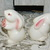 Bunny Rabbit Salt and Pepper Shakers, Vintage Kitchen Decor, Country Kitchen,