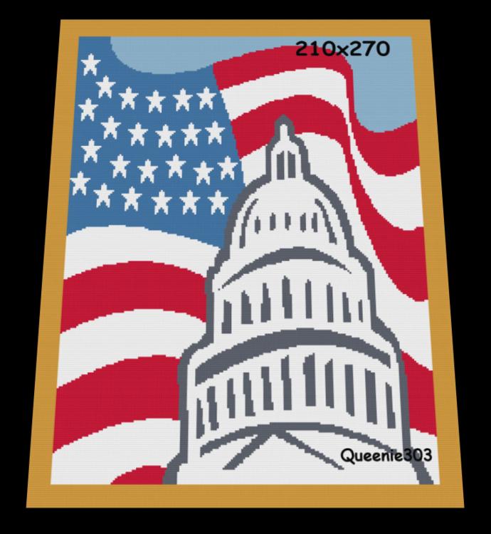 Capital Flag 210x270