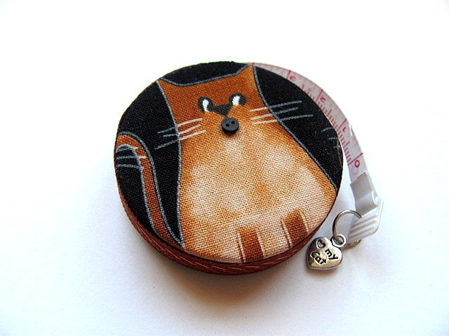 Retractable Measuring Tape Guilty Cat Tape Measure