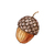 """Woodland Creatures Collection: Acorns Wall Decals (Set of 12) - 2"""" tall x 1.5"""""""