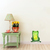 "Woodland Creatures Collection: Frog Wall Decal - 5"" tall x 4"" wide"