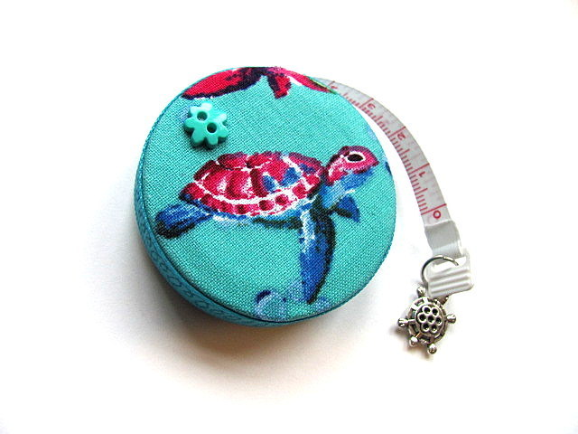 Measuring Tape Swimming Turtles Retractable Tape Measure