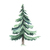 """Woodland Creatures Collection: Pine Tree Wall Decal - 36"""" tall x 27"""" wide"""