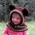 Hooded Cowl with Bear Ears Toddler Crochet Hooded Cowl Bear Hat Animals Hat Boys
