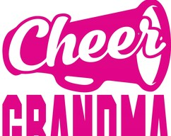 86bb9b9b This is what an awesome cheer Grandma looks like, Cheer leading,  Cheerleader, Cheer Family, Cheer Life, SVG