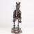 Rocket Horse Metal - Stunning animal sculpture - unique metal art decor - home