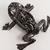 Metal sculpture  - Frog sculpture - Unique metal art decor
