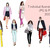 Watercolor fashion illustration clipart - Fashion Girls 22 - Light Skin