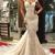 Sexy Mermaid Lace Wedding Dresses 2017 Cap Sleeves Appliques Bridal Gowns