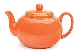 Tangerine Teapot (not Fiesta)