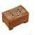 wooden historical jewelry box