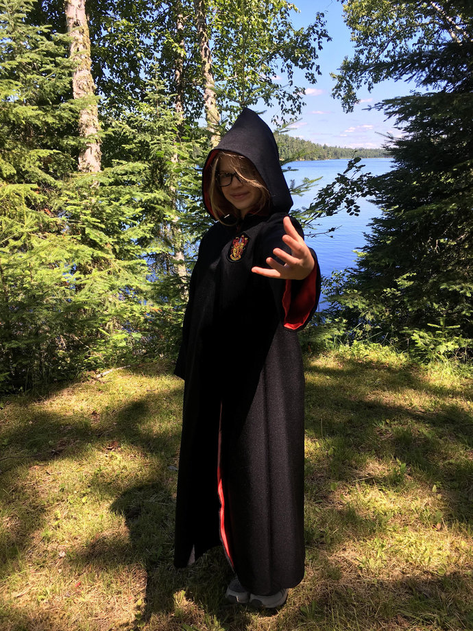 Harry Potter inspired Robes Kids Size~ Made to Order~ perfect gift or Halloween