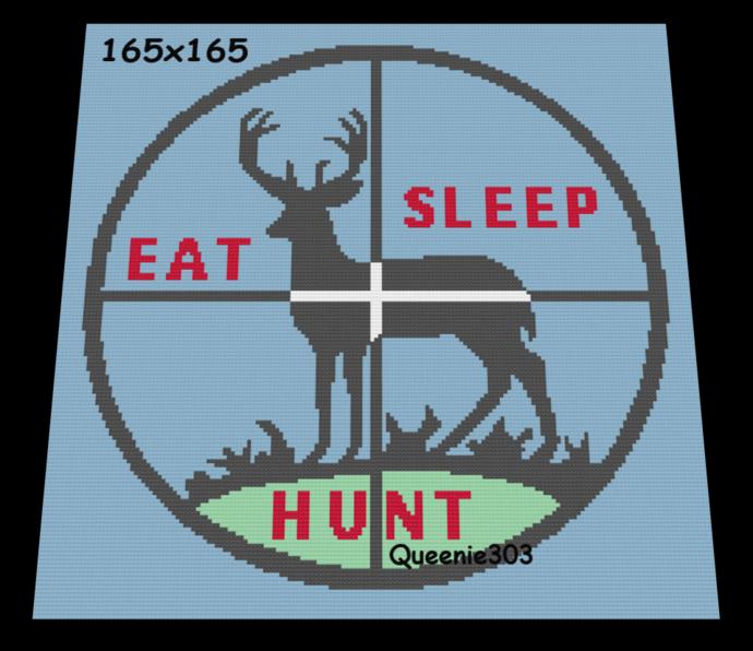 Eat, Sleep, Hunt 165x165