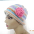 Multicolor Rolled Brim Flower Cloche