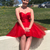 Sweetheart Short Red Party Dresses