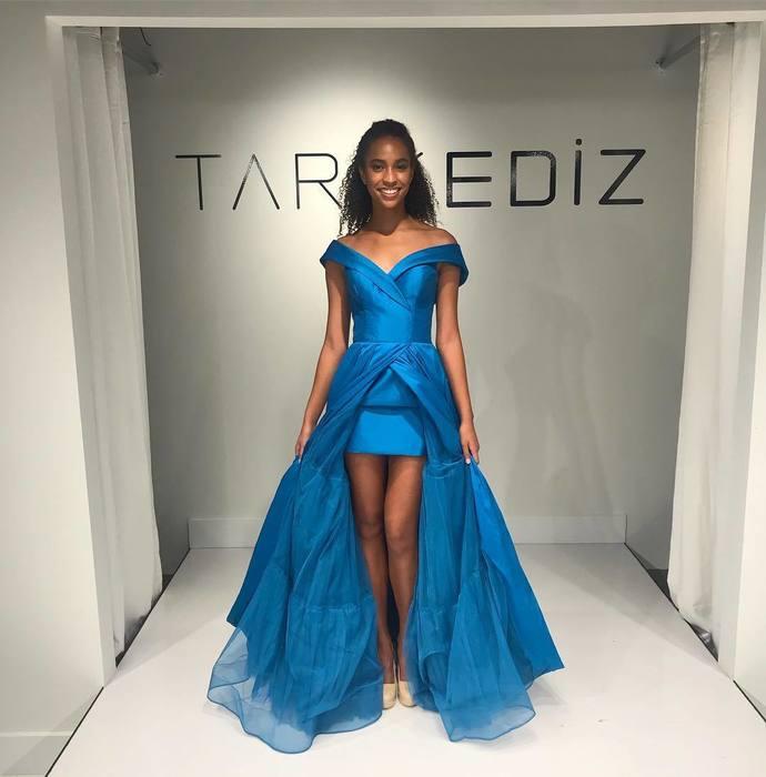 Gorgeous Off the Shoulder Long Blue Prom Dress