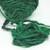 Boho Gypsy HandSpun Recycled Silk Sari Yarn FOREST GREEN 2 or 3 Yard lengths