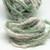 Boho Gypsy HandSpun Recycled Silk Sari Yarn SAGE GREEN CREAM MIX 2 or 3 Yard