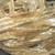 Louisa Harding Sari Yarn CREAM with GOLD Metallic Center 2 or 3 Yard lengths