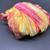 Louisa Harding Sari Yarn SORBET Orange/Rose/Yellow with SILVER Metallic Center 2