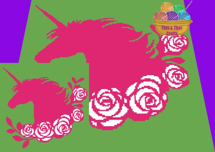Pink Unicorn (sc)