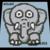 Elephant 60x60