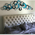 Infinite Circles Wall Decor - Turquoise Circle Wall Sculpture with mirrors -