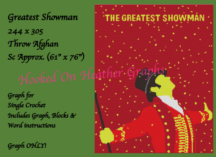 Greatest Showman 244x305
