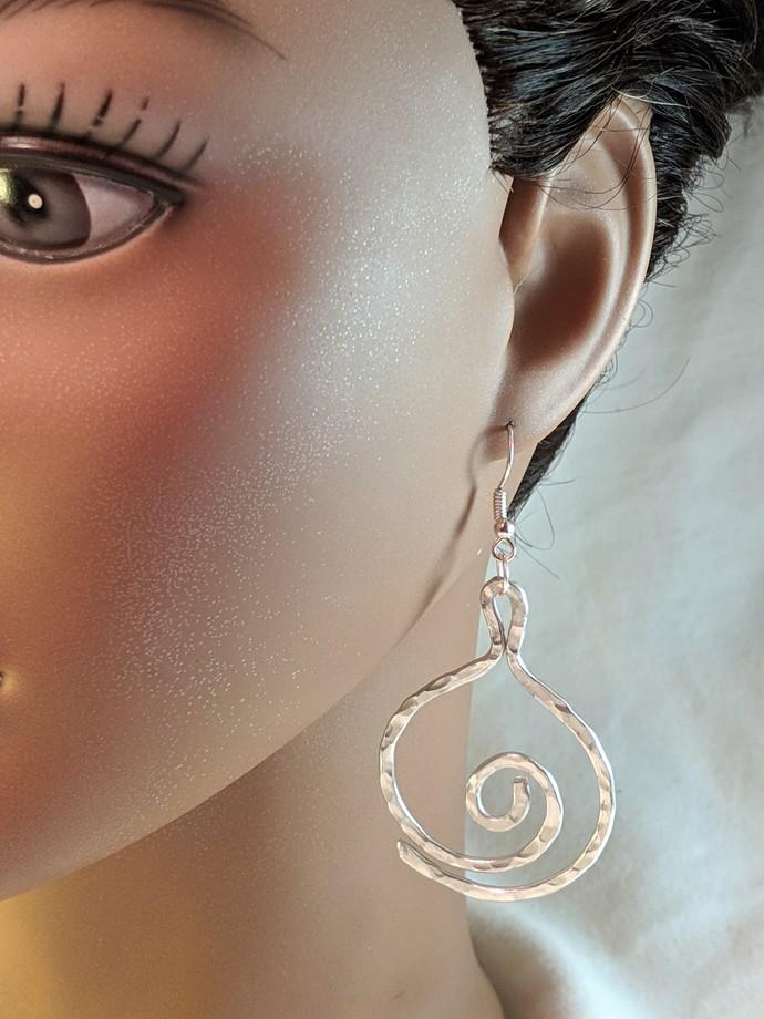 EA0111 1 Aluminum Earrings