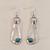 EA0111 2 Aluminum Earrings