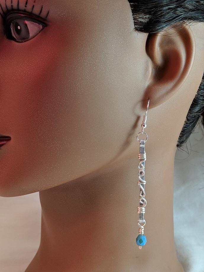 EA0111 3 Aluminum Earrings