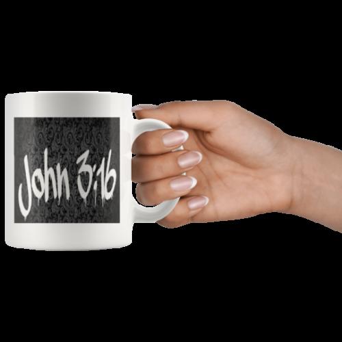 Made to Order Christian Mug John 3:16 Verse KJV nice gift