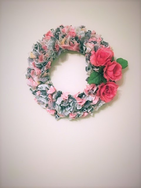 Spring Rag Wreath