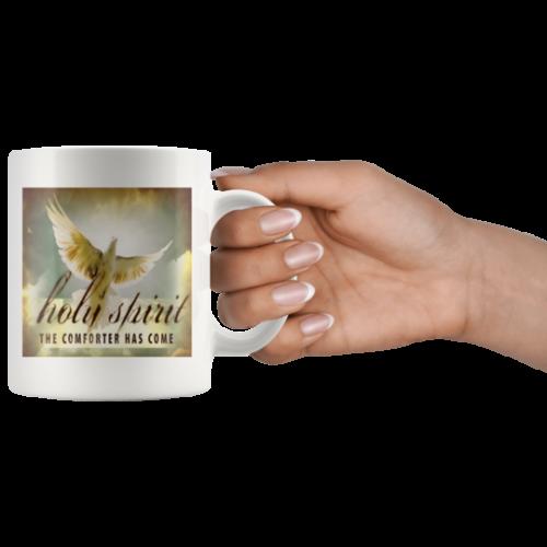 Mug Holy Spirit ,The Comforter has Come,has come,christian gift