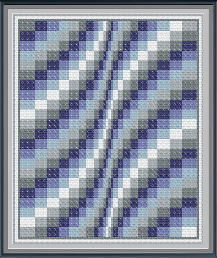 Waves Illusion Throw