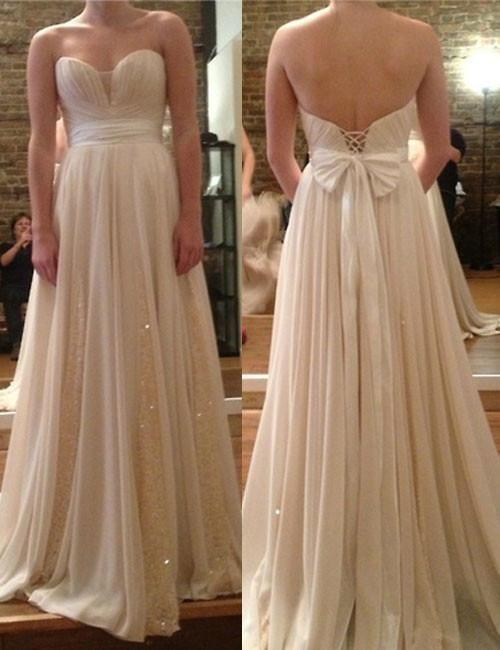 Fashion Bridesmaid Dress,Sweetheart Bridesmaid Dress,A-line Bridesmaid