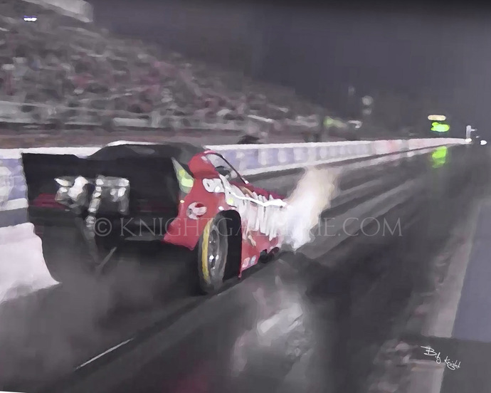 Motorsports Image: Funny Car Launch!