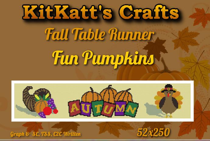 Fall runner Pumpkins