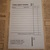 E103 Black Small Docket Pages (10 Pieces) Junk Journal Ephemera