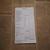 E104 Black Pay Docket Pages (10 Pieces) Junk Journal Ephemera
