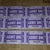 E107 Purple Admit one Tickets (40 Pieces) Junk Journal Ephemera