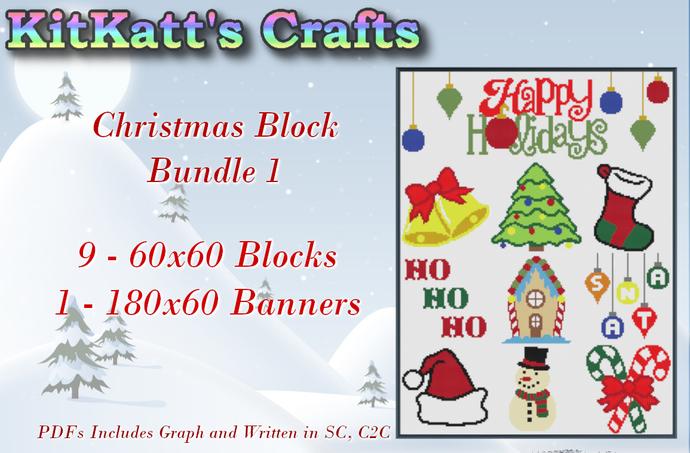 Christmas Block bundle 1