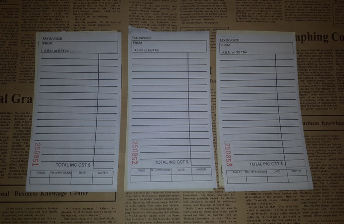 E108 Black and Yellow Docket Pages (10 Pieces) Junk Journal Ephemera